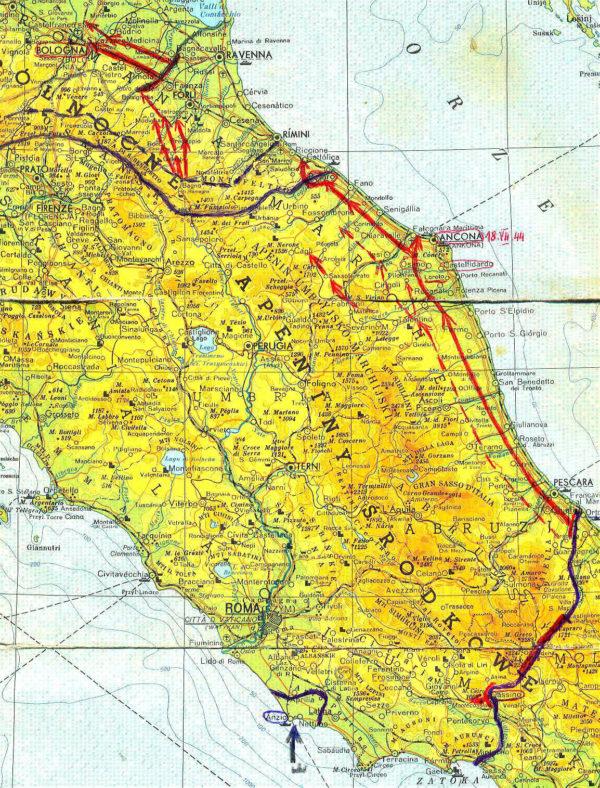 Szlak botowy 2 Korpusu Polskiego