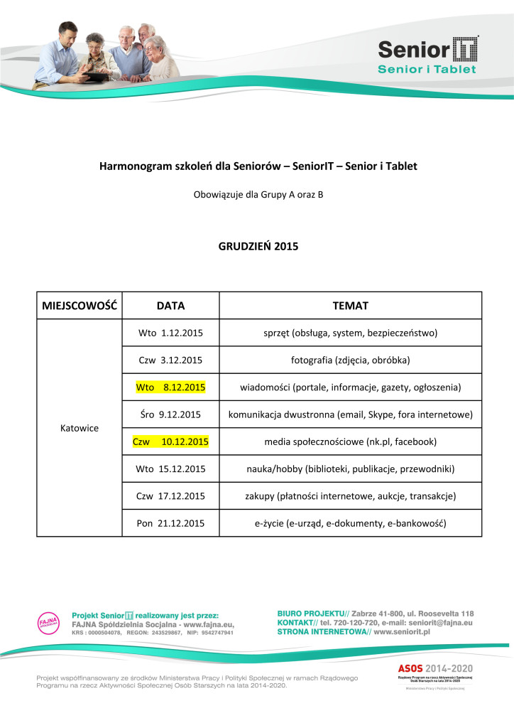 Harmonogram-SeniorIT_grudzień_Katowice
