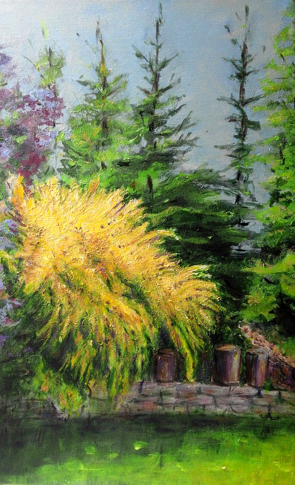 Ogród Doty-akryl,50X40,2015-2jpg