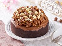 Wielkanocne ciasto czekoladowe
