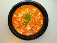 Chłodnik pomidorowy z Serkiem Wiejskim bez laktozy_zdjecie
