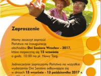 Dni Seniora2017-zaproszenie