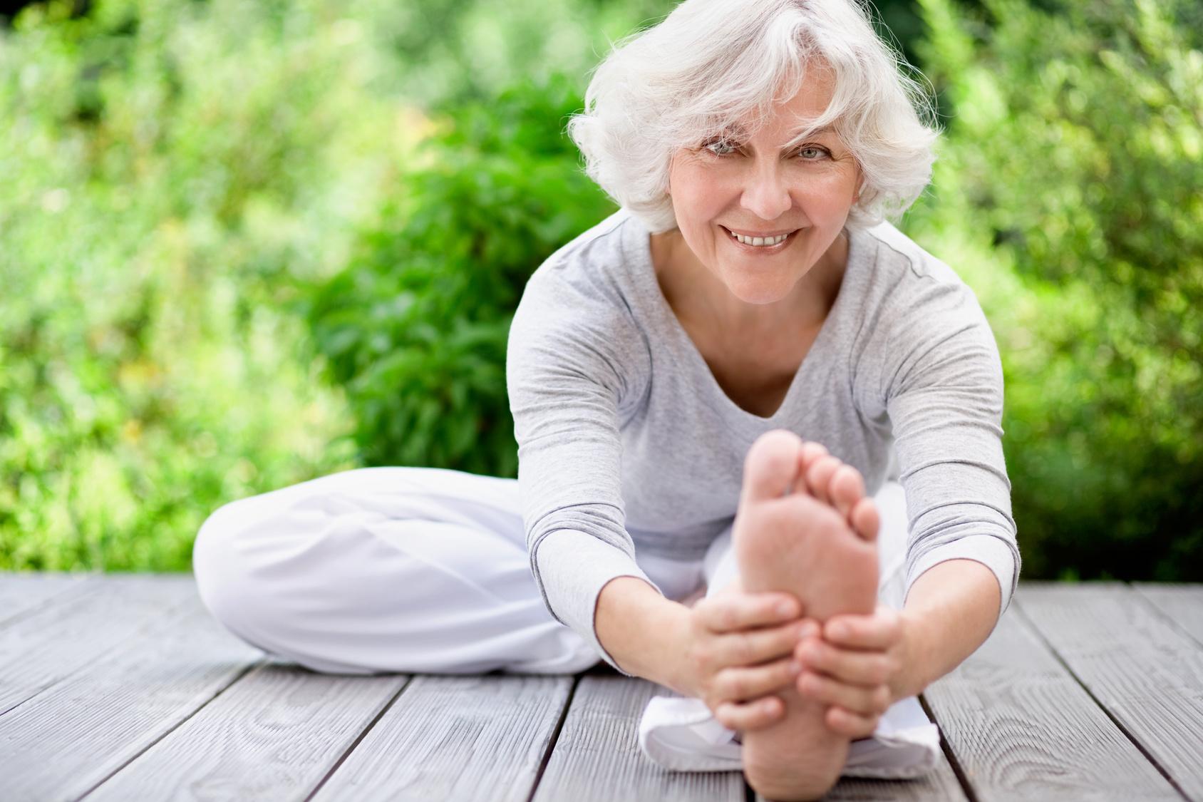 Dlaczego warto ćwiczyć po 70-tce