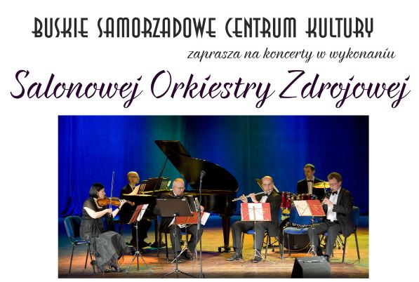 Koncert Salonowej Orkiestry Zdrojowej