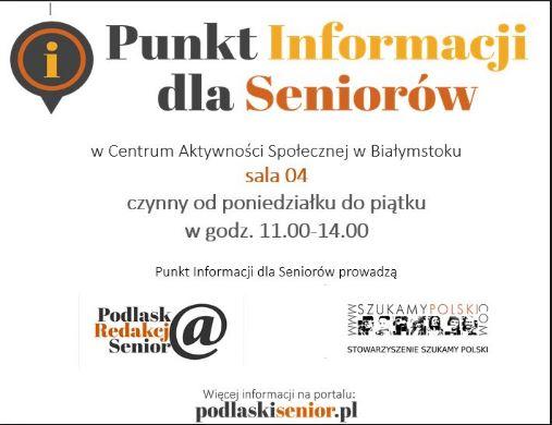 Punkt Informacji dla Seniorów w Białymstoku