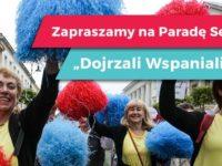 V Parada Seniorów już 18 sierpnia 2018