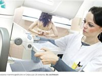 Grójec. Trwają zapisy na bezpłatne badania mammograficzne. Mammobus przyjedzie 28 sierpnia