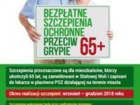 Bezpłatne szczepienia przeciw grypie