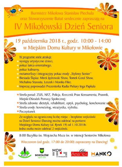 IV Mikołowski Dzień Seniora