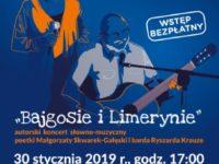 """Bezpłatny koncert dla seniorów """"Bajgosie i Limerynie""""_30.01., godz. 17:00, AHE, Łódź"""