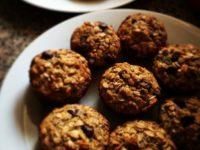 Ciasteczka miodowo-orkiszowe
