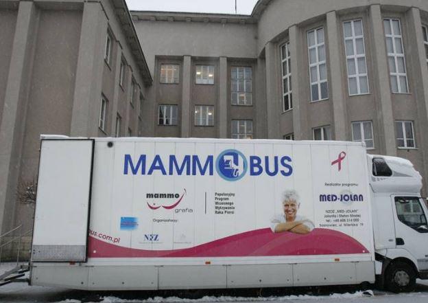 Kulesze Kościelne. Kobietom które zdecydują się na badanie mammografem wójt podaruje kwiaty