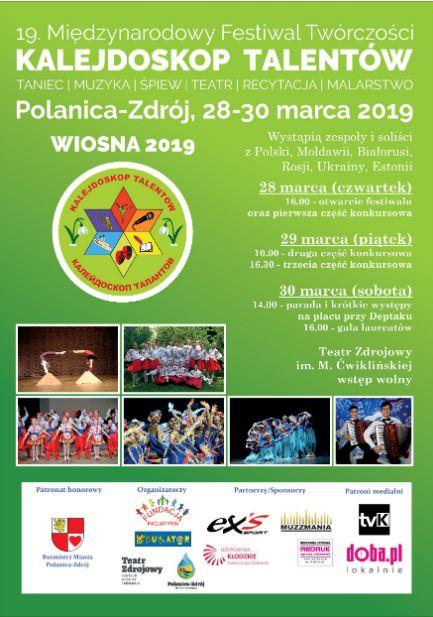 19. Międzynarodowy Festiwal Twórczości Kalejdoskop Talentów