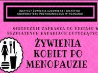 Żywienia kobiet po menopauzie