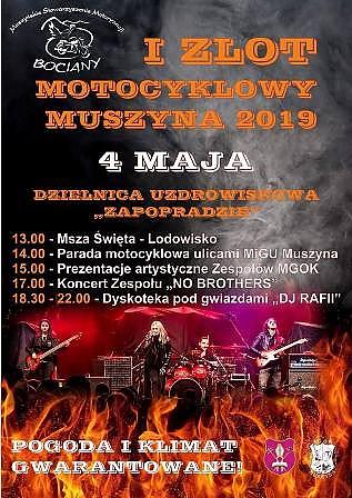 I Zlot Motocyklowy Muszyna 2019