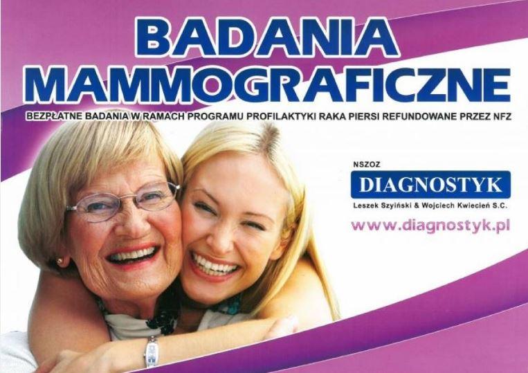 Badanie mammograficzne w Wągrowcu