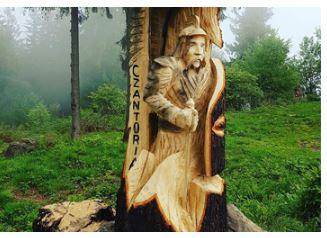 Pokaz rzeźbienia pilarką w drewnie