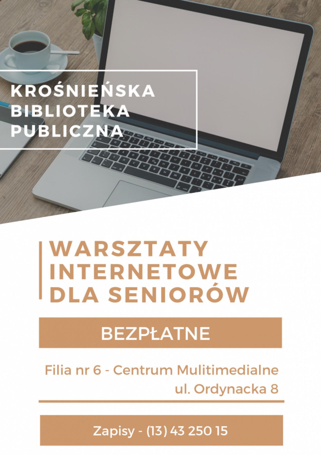Bezpłatne warsztaty komputerowe dla seniorów w Krośnie