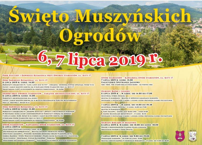 Święto Muszyńskich Ogrodów