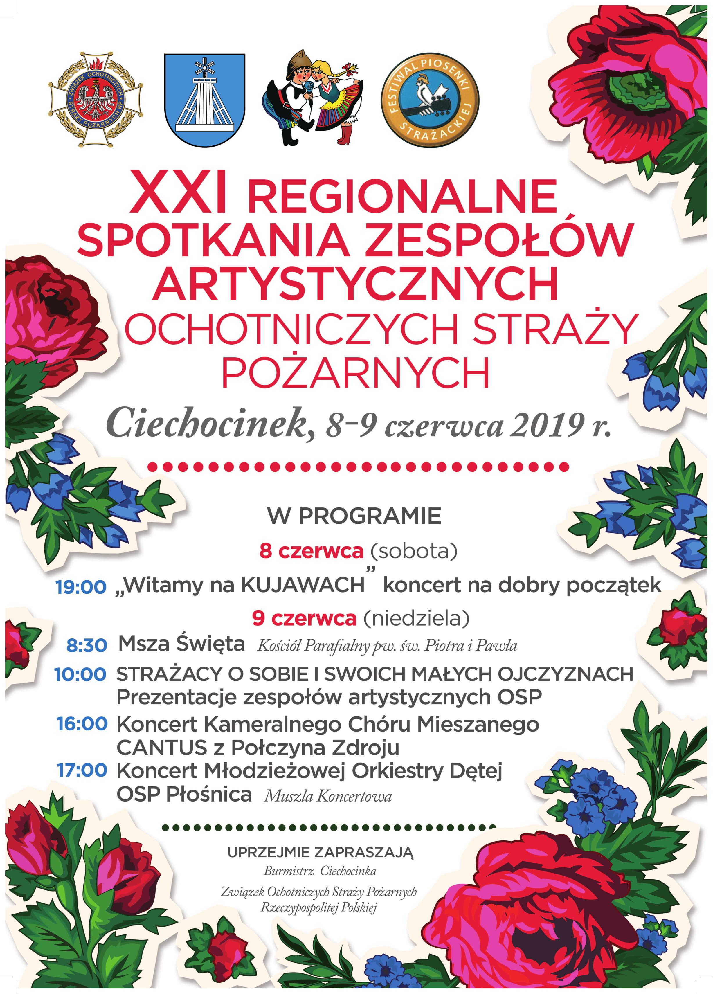 XI Regionalne Spotkania Zespołów Artystycznych OSP