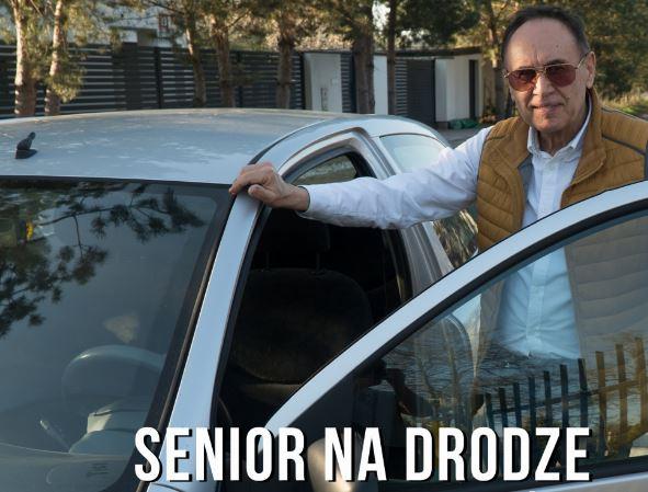 Senior na drodze