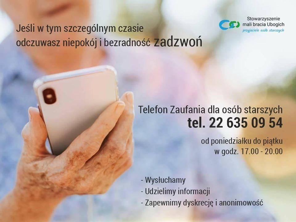 telefon zaufania senior